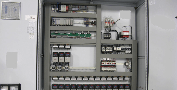 Control panels, control cabinets